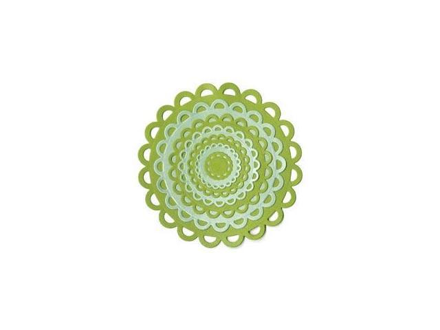 Lifestyle Nesting Dies-Lace Circles; 7 Dies