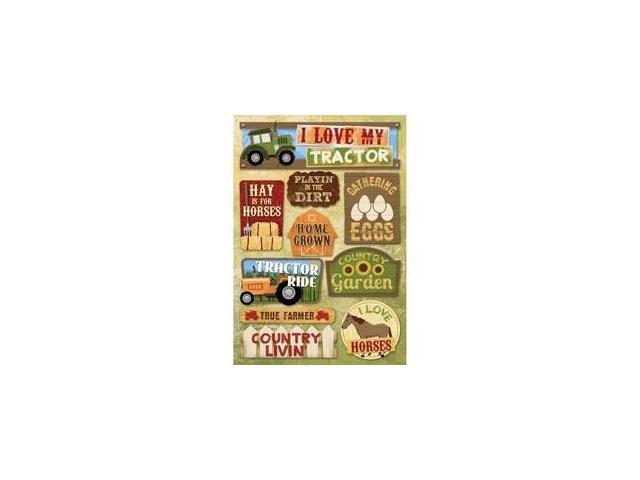 Farm Cardstock Stickers 5.5