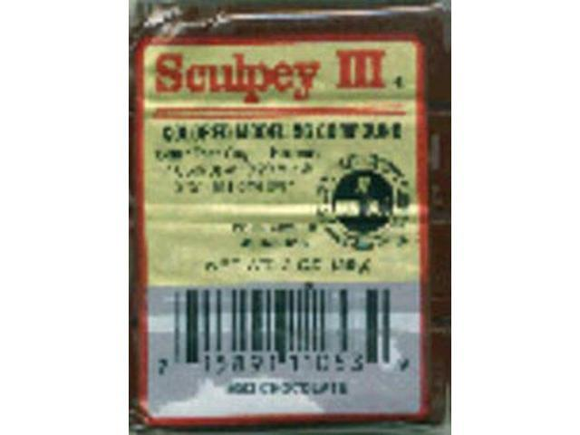 Sculpey III Polymer Clay 2oz-Chocolate