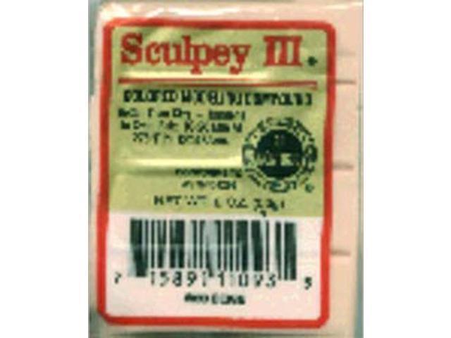 Sculpey III Polymer Clay 2oz-Beige