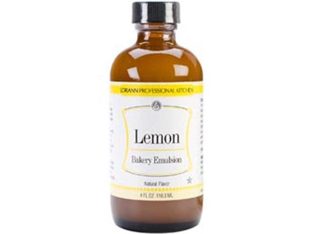 Artificial Flavor Bakery Emulsions 4 Ounces-Lemon