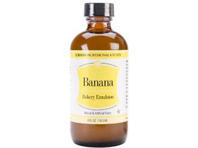 Artificial Flavor Bakery Emulsions 4 Ounces-Banana