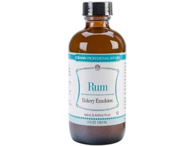 Artificial Flavor Bakery Emulsions 4 Ounces-Rum