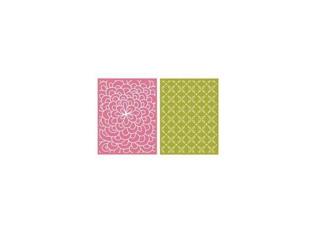 Goosebumps A2 Embossing Folders 2/Pkg-Bloom