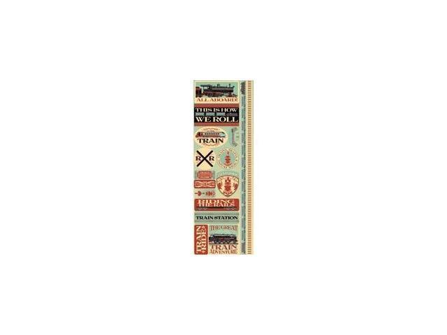 Signature Series Cardstock Combo Sticker 4.25