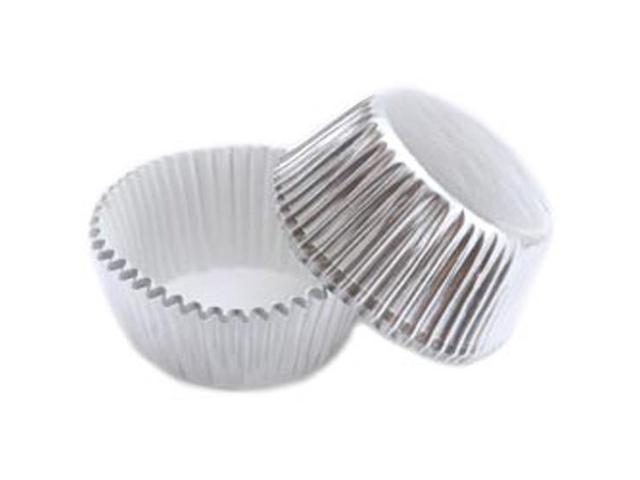 Mini Baking Cups-Silver Foil 36/Pkg