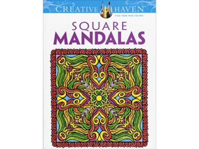 Dover Publications-Square Mandalas