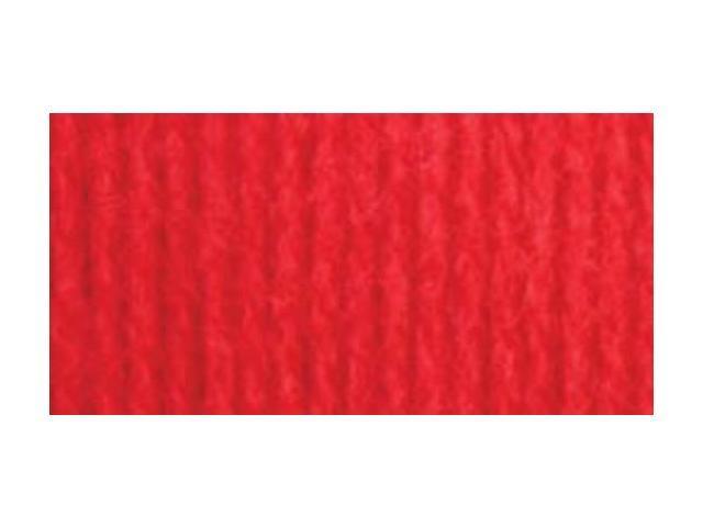 Super Value Solid Yarn-True Red