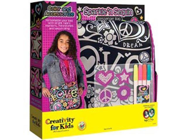 Sparkle 'n Sequin Messenger Bag Kit-