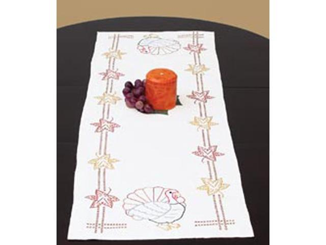 Stamped Table Runner/Scarf 15