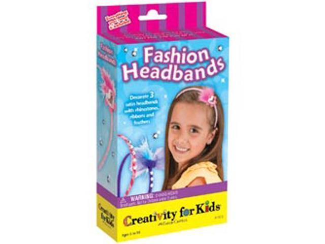 Creativity For Kids Activity Kits-Fashion Headbands (makes 10)