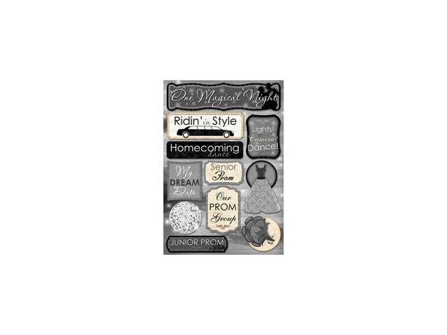 Prom Cardstock Stickers 5.5
