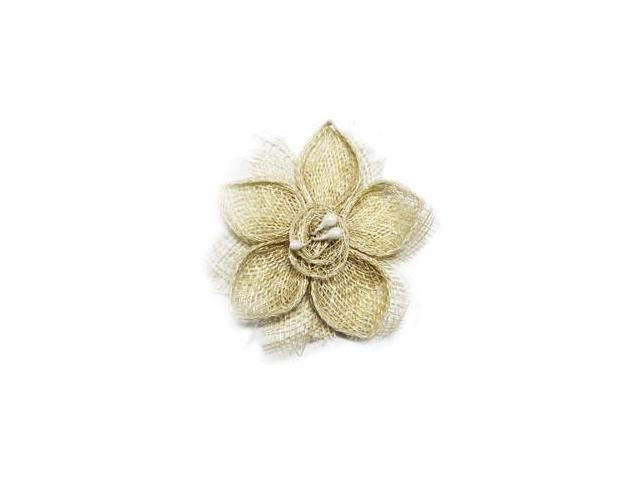 Textured Flower-Cream