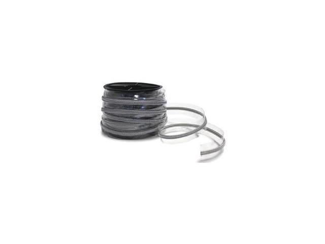 Plastic Zip Trim 20m-Silver