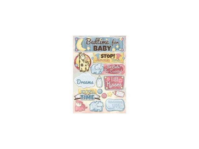 Baby Cardstock Stickers 5.5
