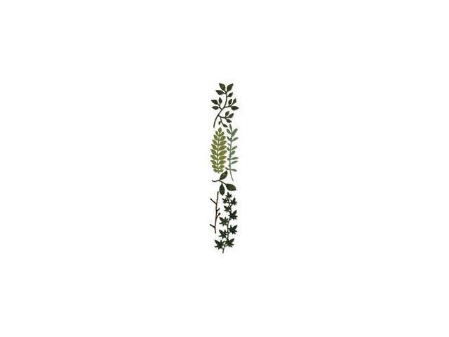 Sizzix Sizzlits Decorative Strip Die By Tim Holtz-Spring Greenery
