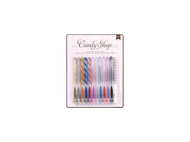 Candy Shop Gel Pens 12/Pkg-