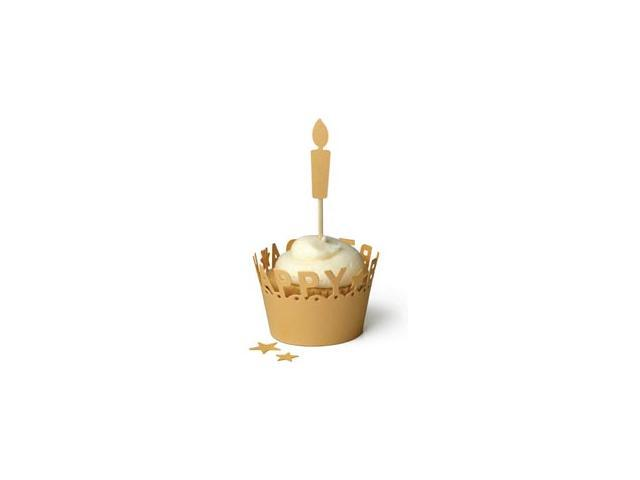 Lifestyle Template Die-Happy Birthday Cupcake Liner; 3.1