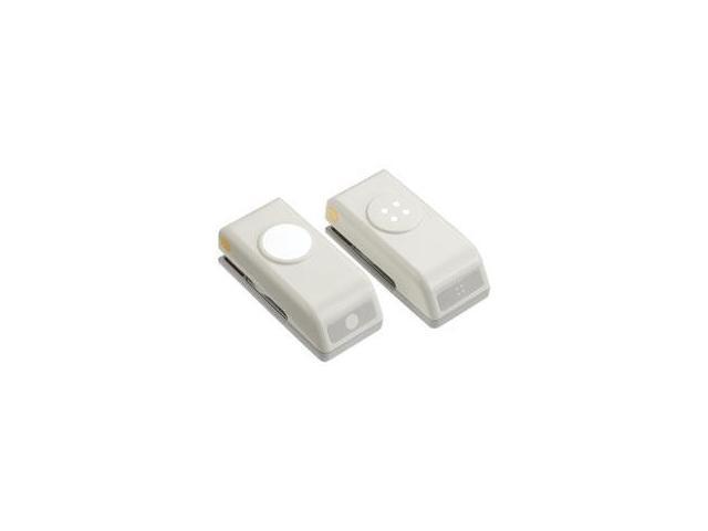 Mini Punches 2/Pkg-Button & Holes; .67
