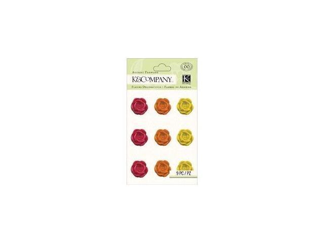 Raspberry Lemonade Resin Accents 9/Pkg-Flowers
