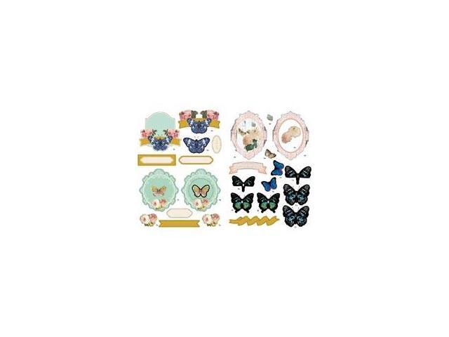 Fundamentals 3D Decoupage Pack-Butterflies