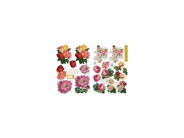 Fundamentals 3D Decoupage Pack-Floral