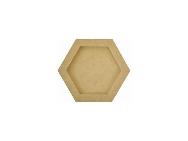 Beyond The Page MDF Hexagon Frames 5/Pkg-6