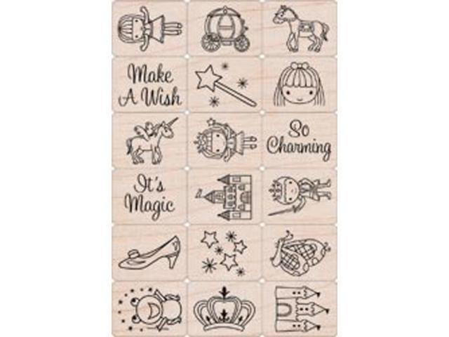 Hero Arts Ink 'n Stamp Tub-Fairy Princess