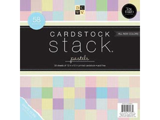 Textured Pastels Cardstock Stack 12