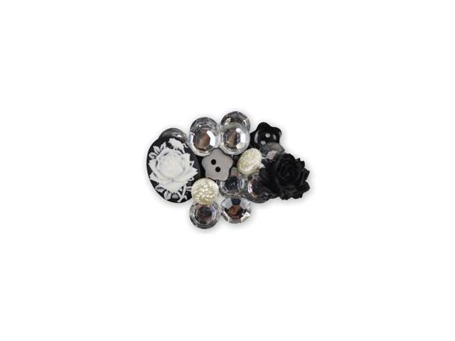 Favorite Findings Shaped Buttons-Old Treasures Assorted 18/Pkg