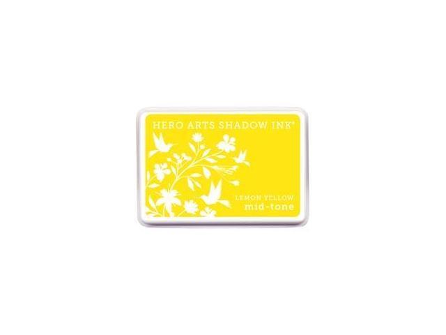 Hero Arts Midtone Ink Pads-Lemon Yellow