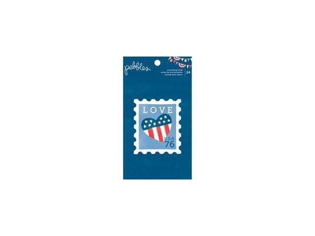 Americana Journaling Cards 24/Pad-