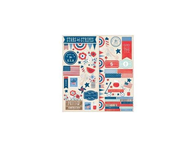 Americana Cardstock Stickers 6