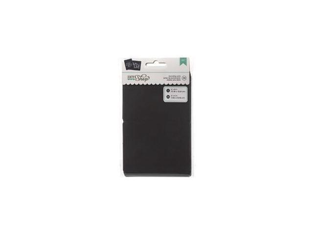 DIY Shop Journaling Cards 36/Pkg-Chalkboard