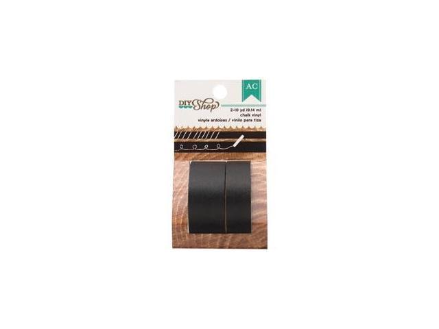 DIY Shop Washi Tape 10yd Roll 2/Pkg-Chalk Vinyl