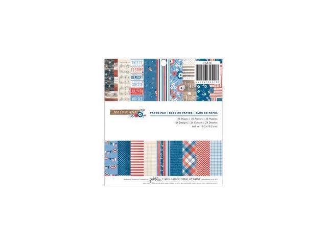 Americana Paper Pad 6