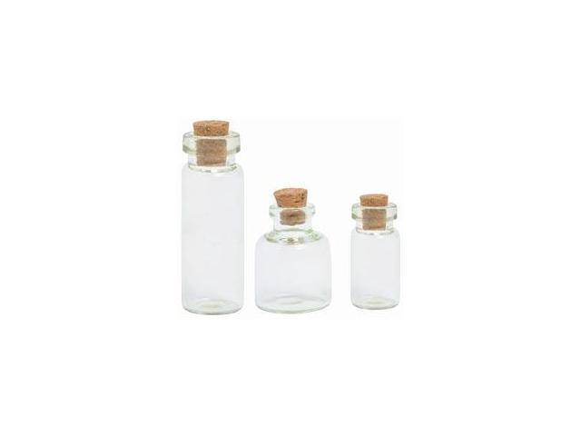 Treasures Corked Bottles 3/Pkg-.5