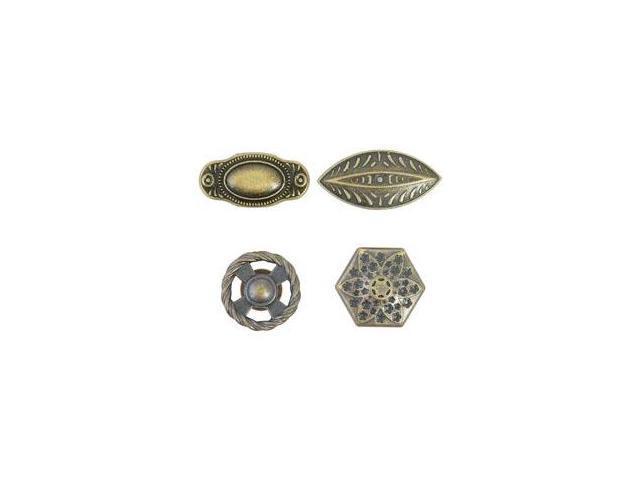 Treasures Metal Door Knobs .75