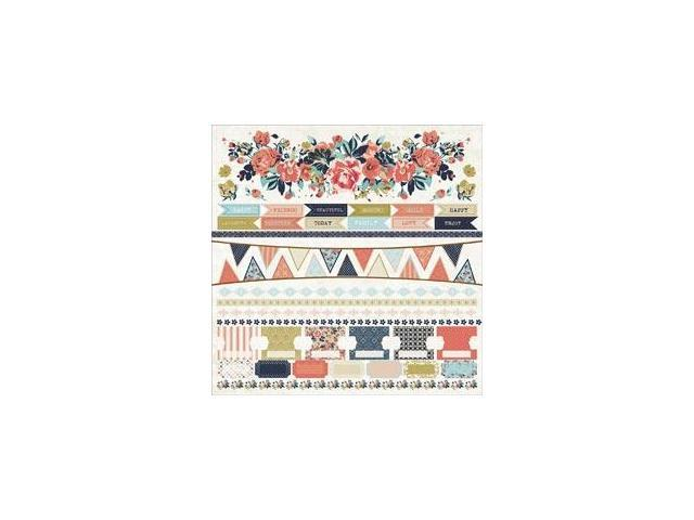 Blu Belle Cardstock Stickers 12