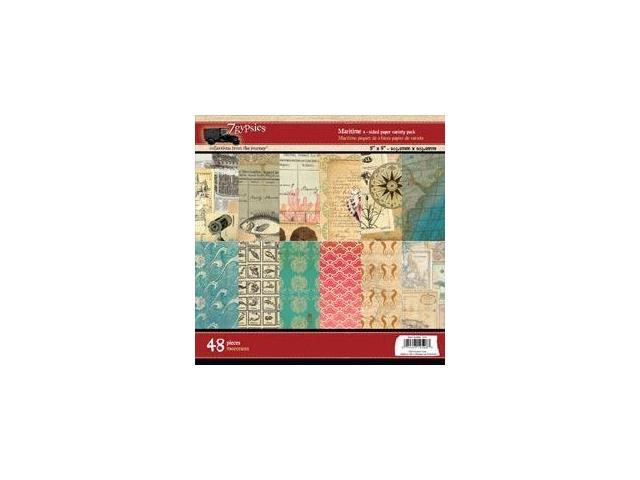 Maritime Double-Sided Paper Pad 8