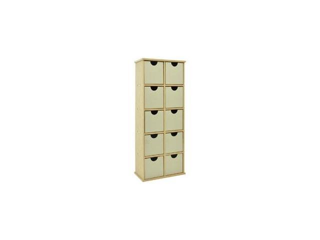Beyond The Page MDF 10-Drawer Stand-20.5