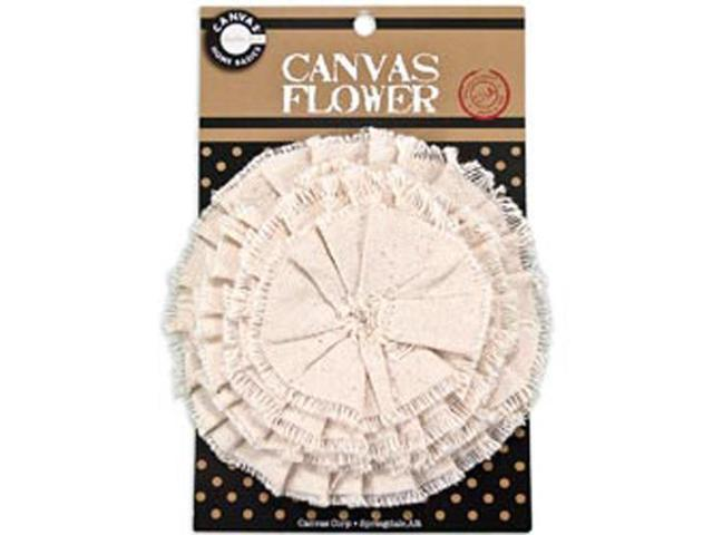 Canvas Flower-Natural