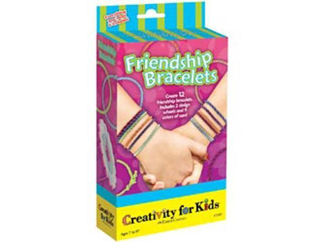 Creativity For Kids Activity Kits-Friendship Bracelets (makes 12)