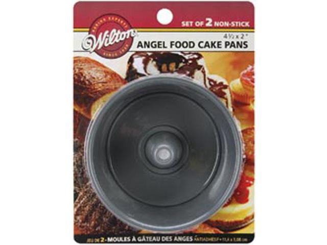 Mini Angel Food Cake Pans 2/Pkg-4-1/2