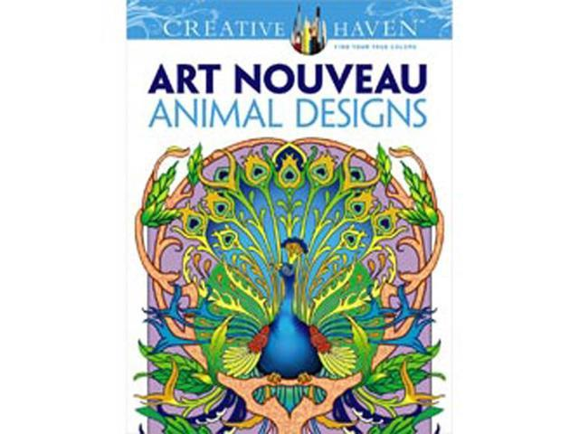 Dover Publications-Creative Haven Art Nouveau Animal Design