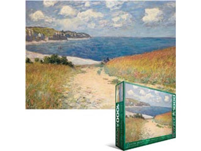 Eurographics EUROPZ-1499 Jigsaw Puzzle 1000 Pieces 19.25 in. X26.5 in. -Monet - Chemin dans les Bles a Pourville
