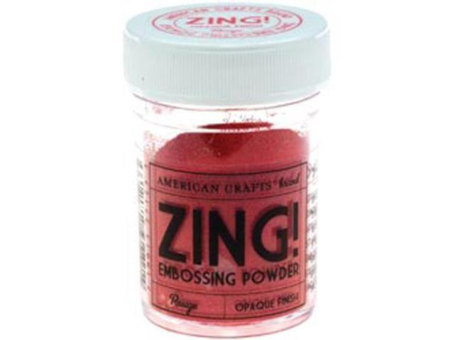 Zing! Opaque Embossing Powder 1 Ounce-Rouge
