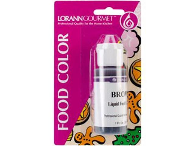 Liquid Food Color 1 Ounce-Brown