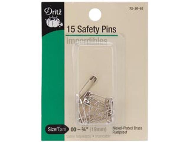 Safety Pins-Size 00 14/Pkg