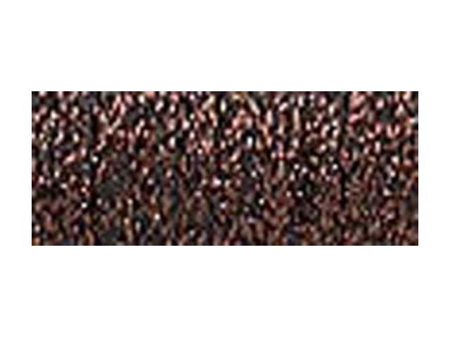 Kreinik Fine Metallic Braid #8 10 Meters (11 Yards)-Brown